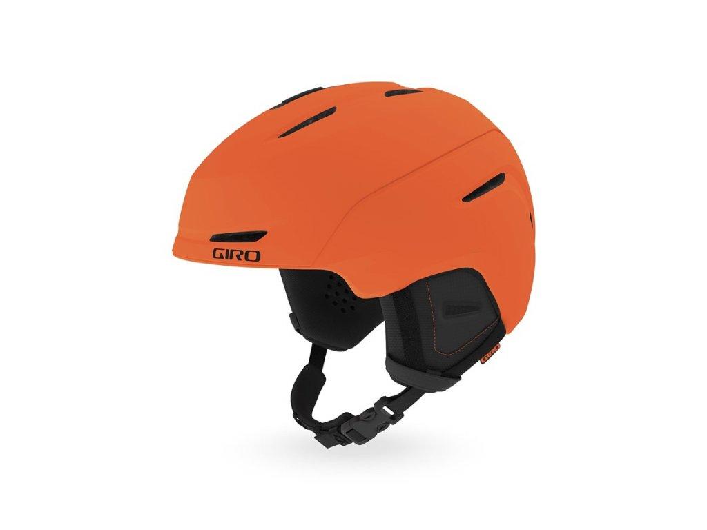 Lyžařská helma GIRO Neo Mat Bright Orange