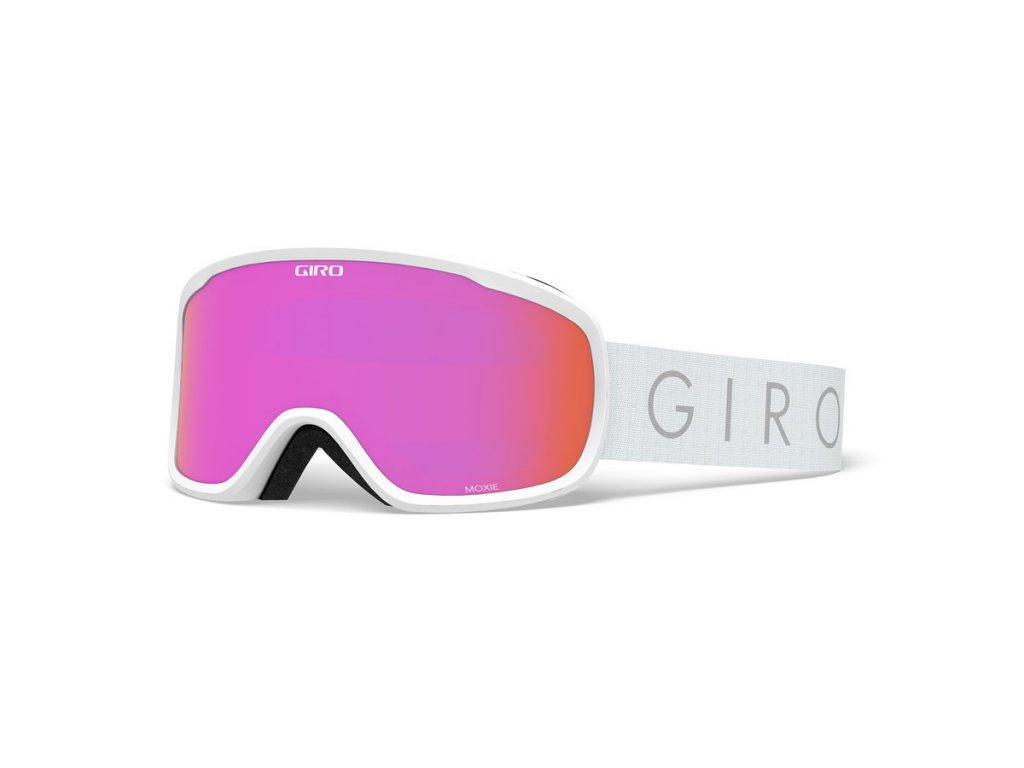 GIRO Moxie White Core Light Amber Pink Yellow 1