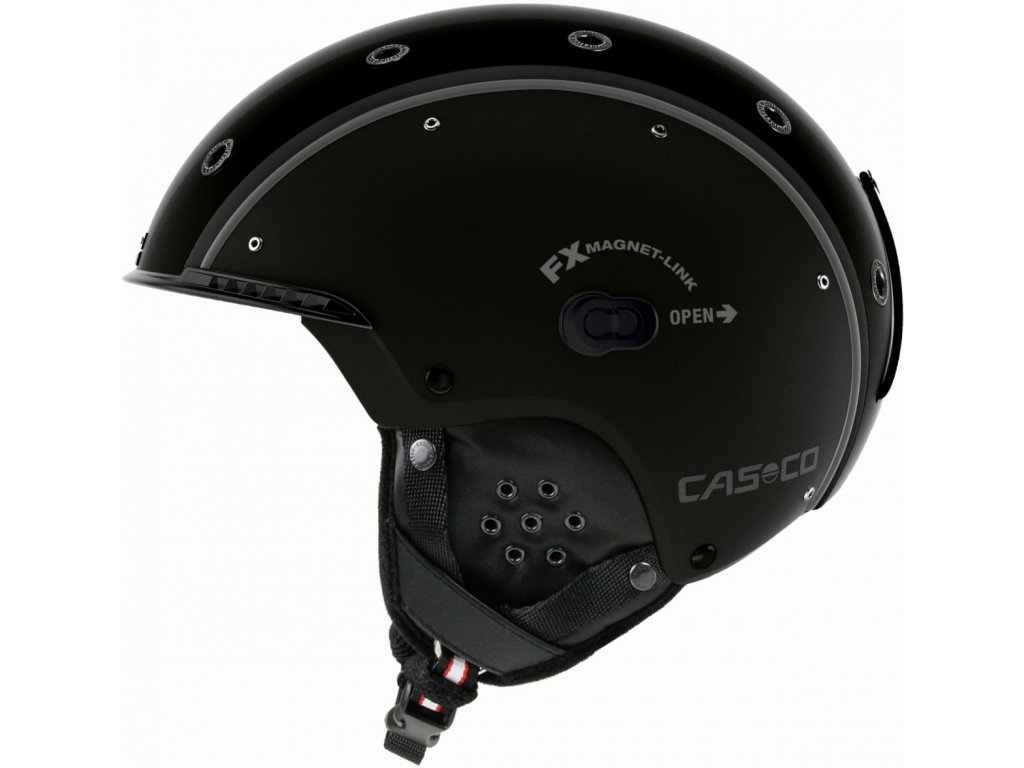 Casco SP3 Airwolf Black Side+FX70 Carbonic black 1