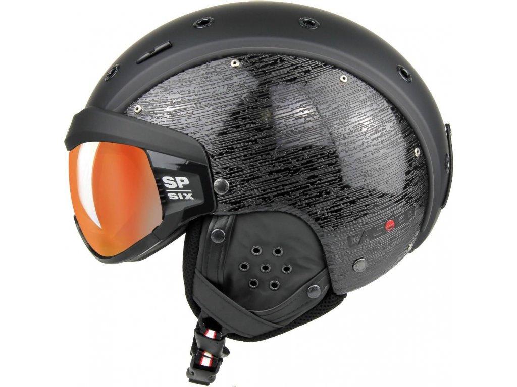 casco sp 6 visor brush black 1