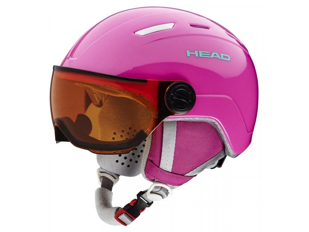 Head MAJA VISOR (pink)