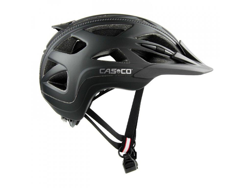 cyklistická přilba CASCO ACTIV2 Black Matt 1