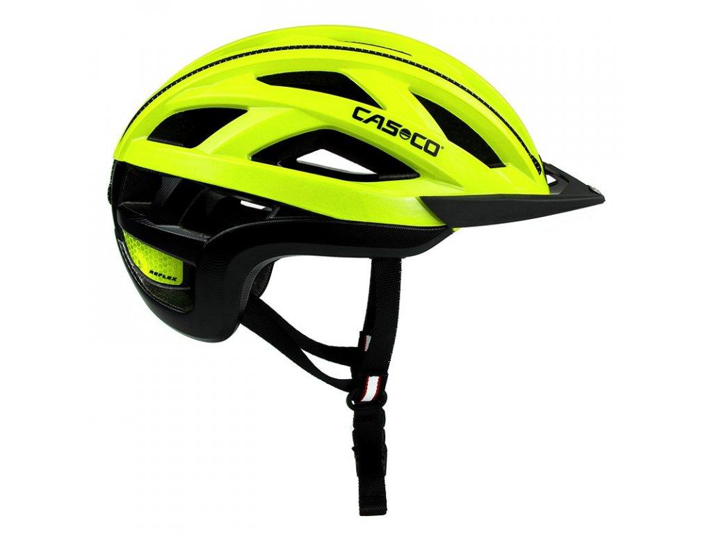 cyklisticka přilba CASCO CUDA2 NeonYellow Shiny