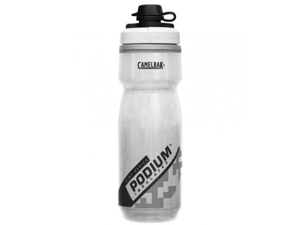 camelbak podium chill dirt series 620 ml white
