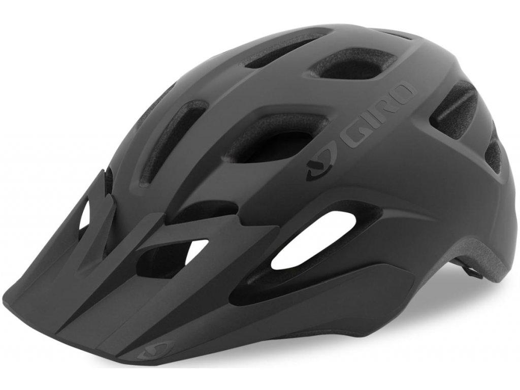 cyklistická přilba giro fixture xl mat black 1