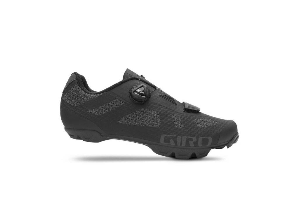 cyklistické tretry GIRO Rincon Black 1