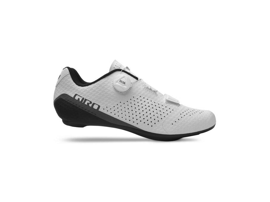 cyklistické tretry giro cadet white 1