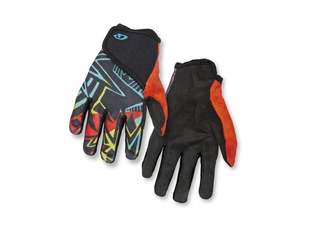 cyklistické rukavice GIRO DND Jr II Blast