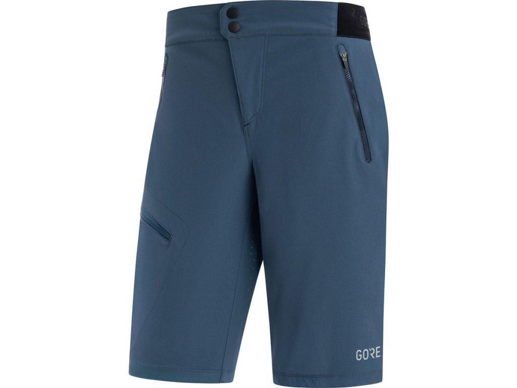dámské cyklistické kraťasy GORE C5 Women Shorts deep water blue 1