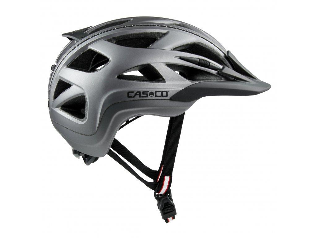 cyklisticka přilba CASCO ACTIV2 Anthracite Matt