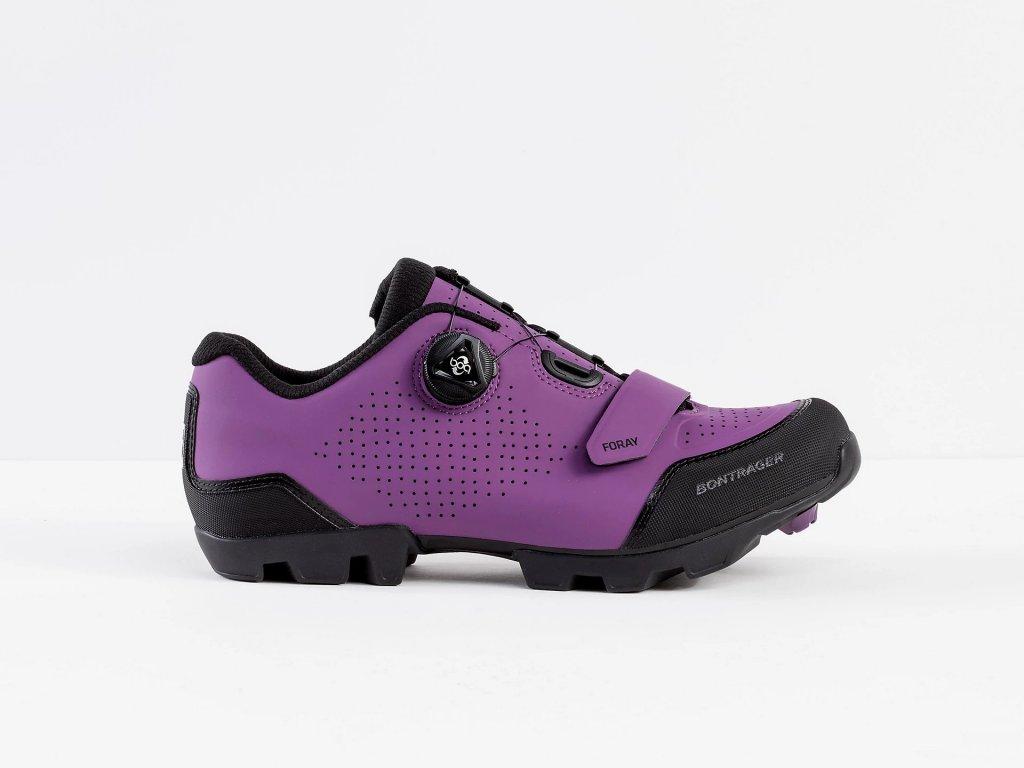 Boty Bontrager Foray purple 5