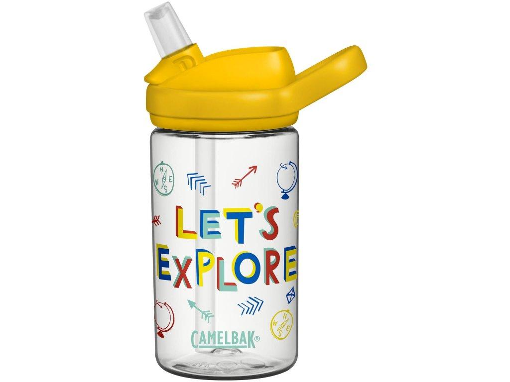 Láhev Camelbak Eddy+ Kids Explore 400ml 2282103040