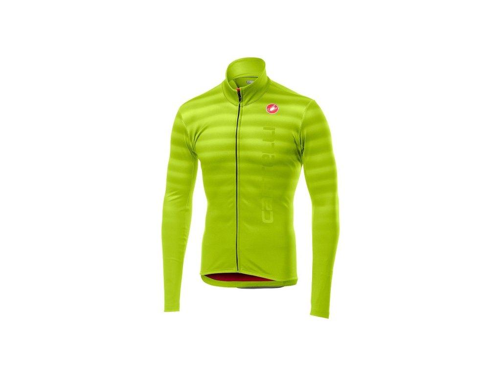 Cyklistický dres Castelli Scossa zluty