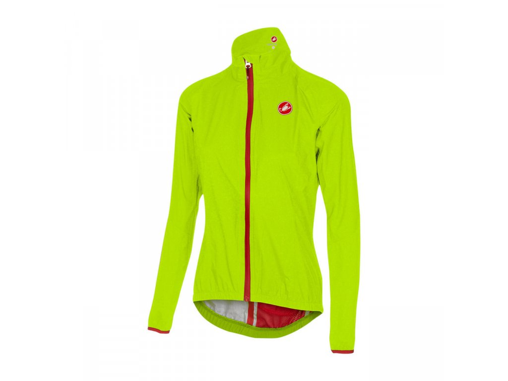 Cyklistická bunda Castelli Riparo Rain W