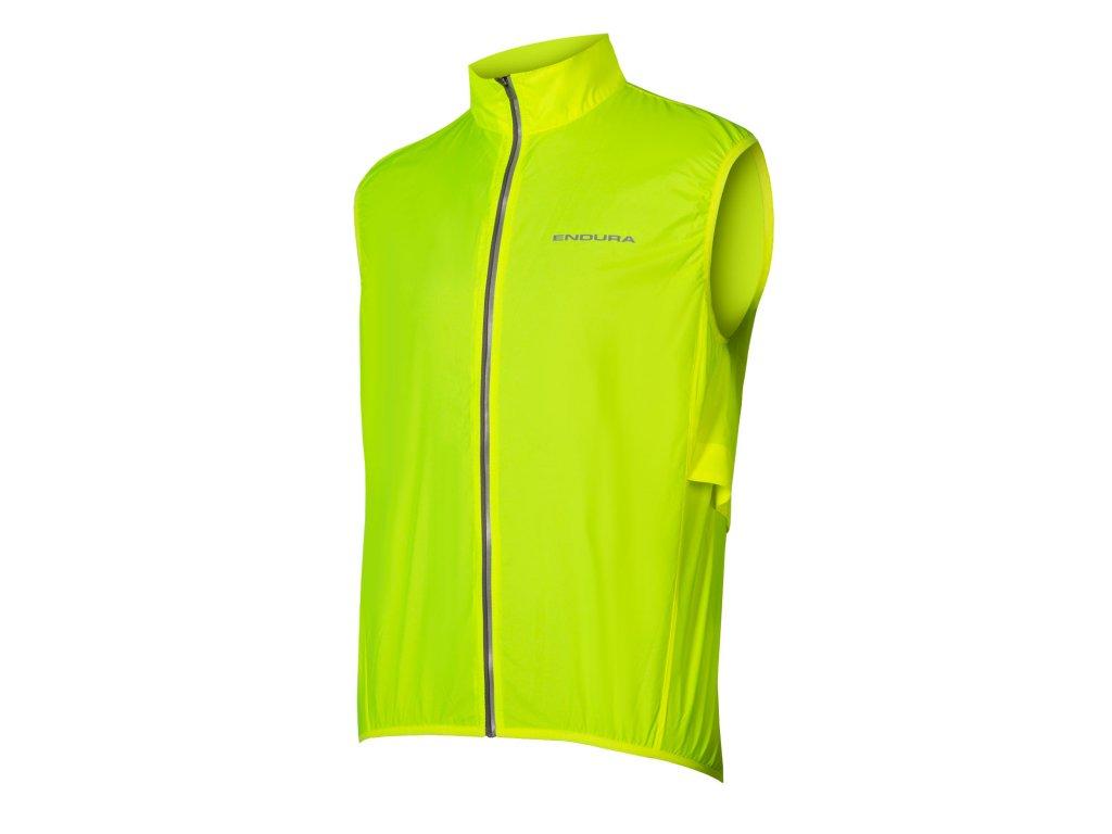 Cyklistická vesta Endura Pakagliet E9151YV svítivě žlutá