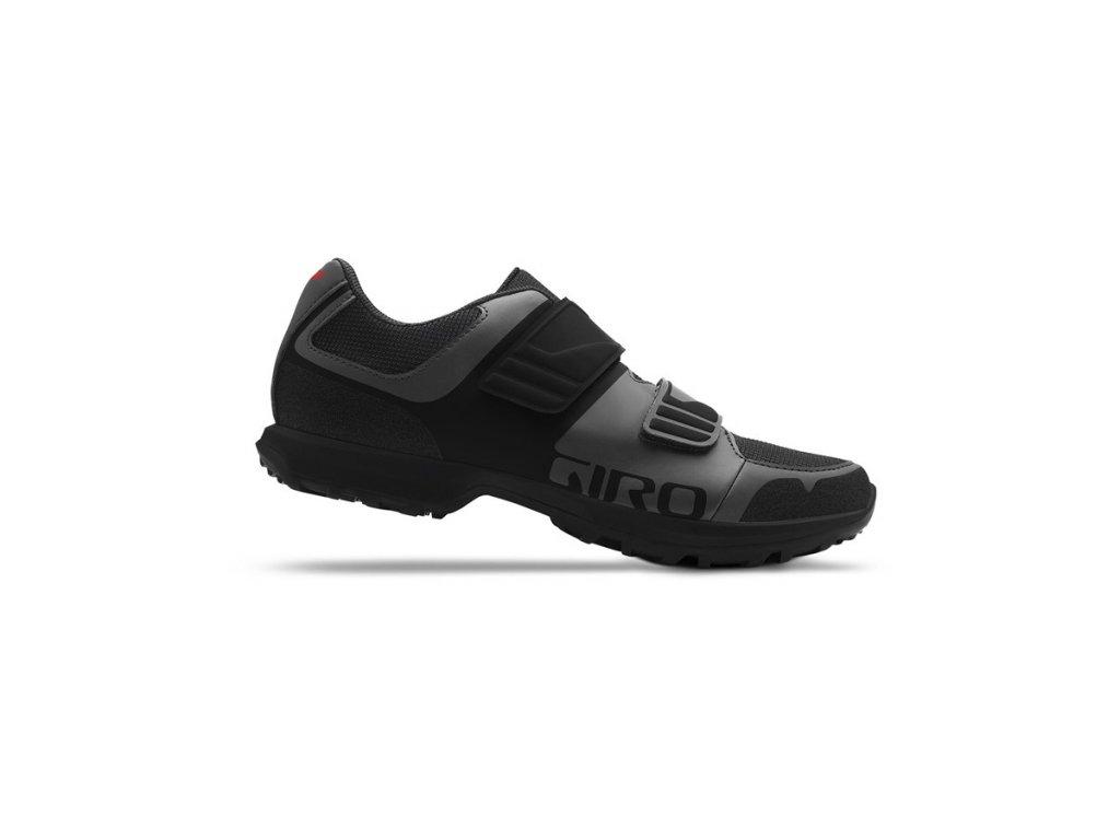 Cyklistické tretry Giro Berm 7107328 Dark Shadow/Black