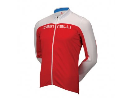 Cyklistický dres Castelli Pologo HD Long Sleeve