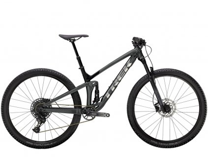 Trek Top Fuel 7 SX Lithium Grey Trek Black 1
