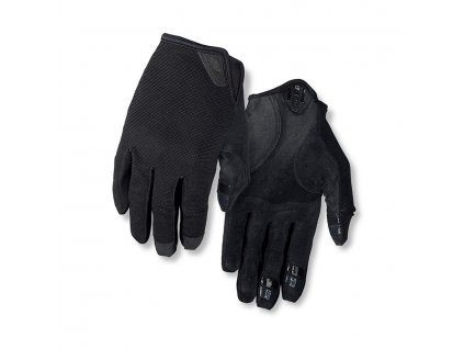 Cyklistické rukavice giro dnd black