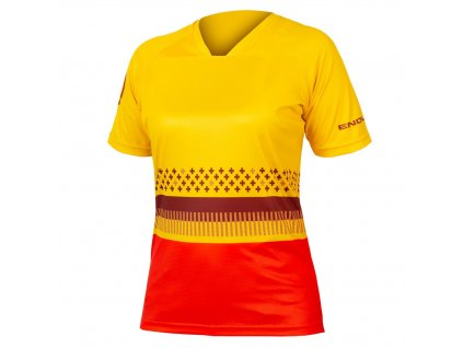 Endura dámský dres SingleTrack Print T 1