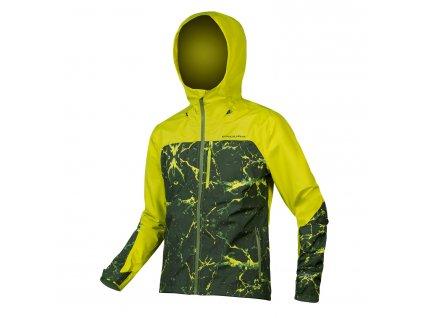 bunda endura singletrack jacket lime 1