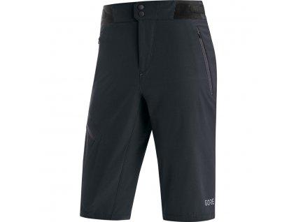 cyklistické kraťasy GORE C5 Shorts black 1