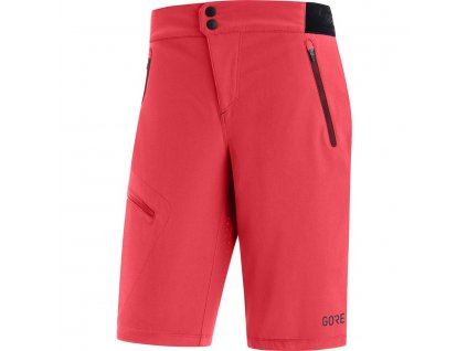 dámské cyklistické kraťasy GORE C5 Women Shorts hibiscus pink 1