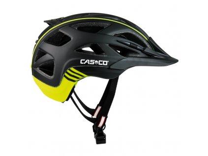 cyklistická helma CASCO ACTIV2 Black Neon Matt 1