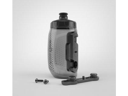 FIDLOCK set láhve s držákem BOTTLE TWIST DARK 450ml 2