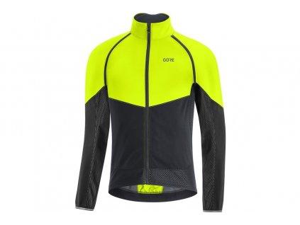 bunda Gore Phantom jacket neon yellow black 1