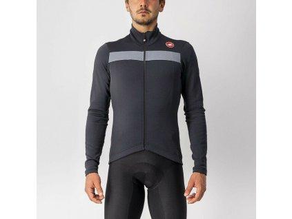 cyklistický dres castelli PURO 3 JERSEY FZ black 1
