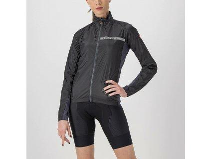 dámská cyklistická bunda castelli squadra strech black 1