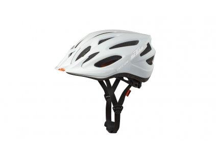 KTM Helm Lady Line white matt