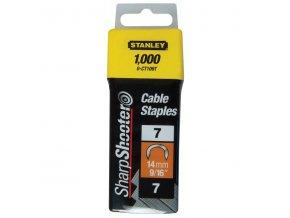 Spony 12mm typ 7 CT100 STANLEY 1-CT108T