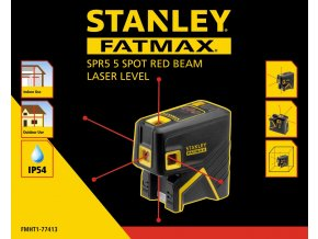 5-ti bodový laser STANLEY FMHT1-77413