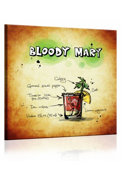 Obraz cedule Bloody Mary