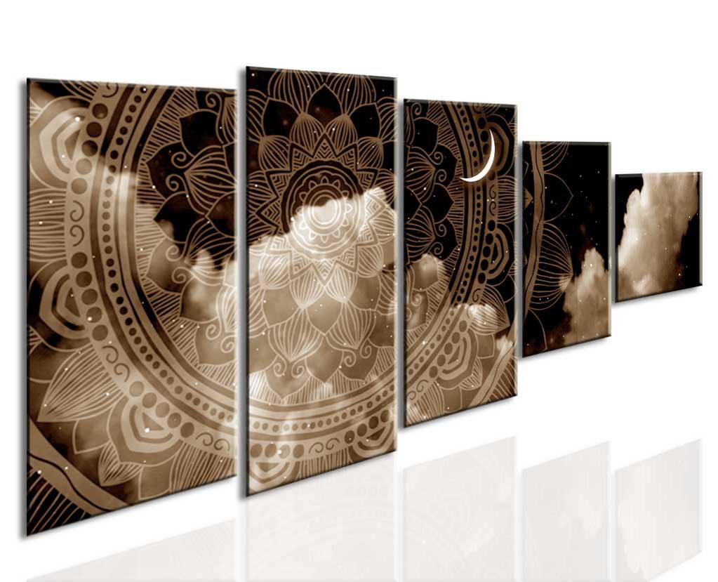Mandala v říši snů III 210x90 cm