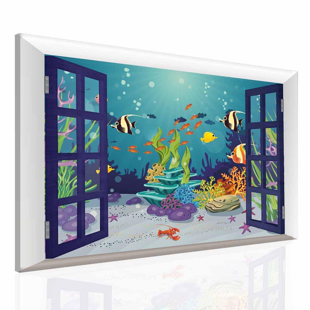 Dětský obraz svět pod vodou 60x40 cm