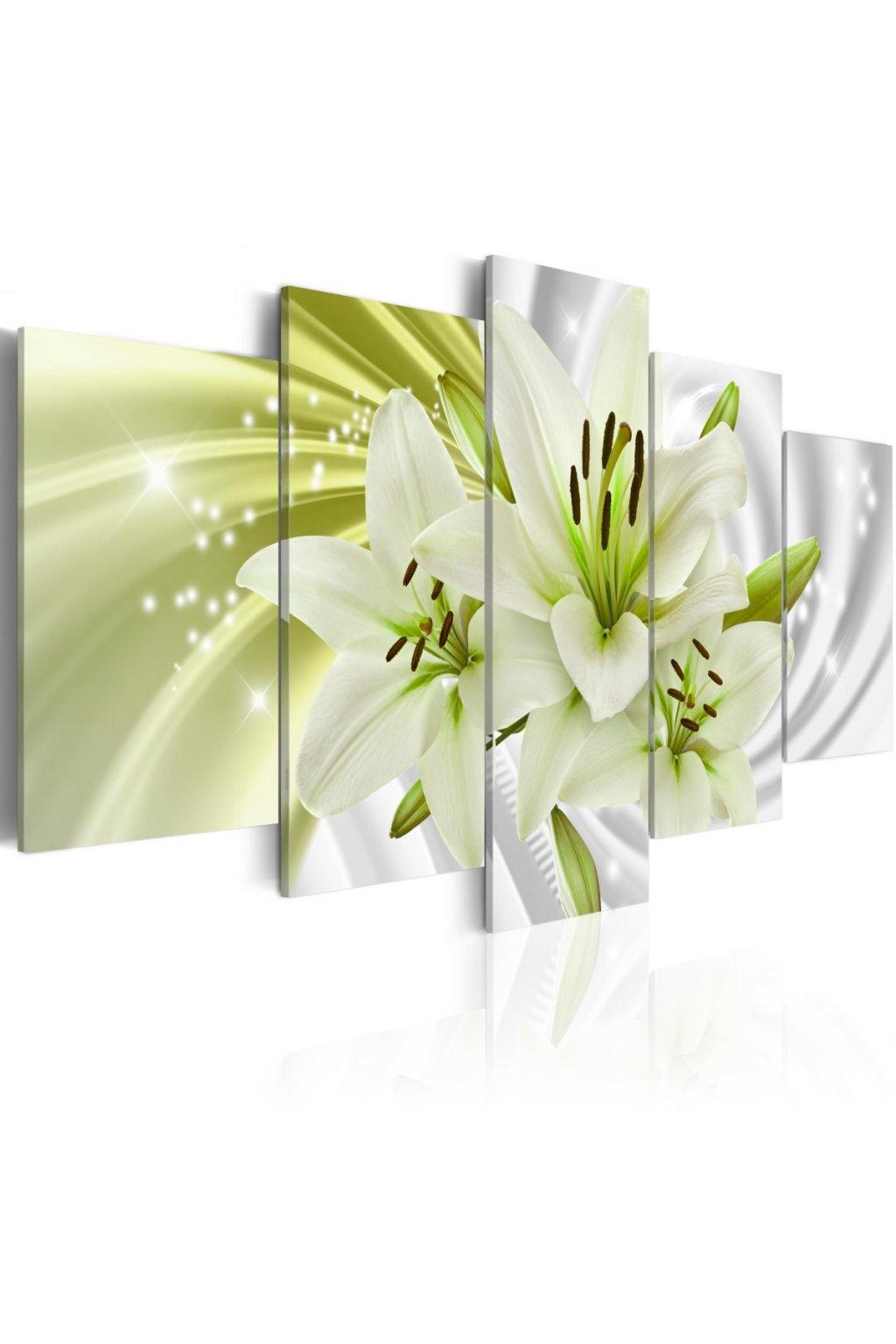 Lilie v zelené 160x80 cm
