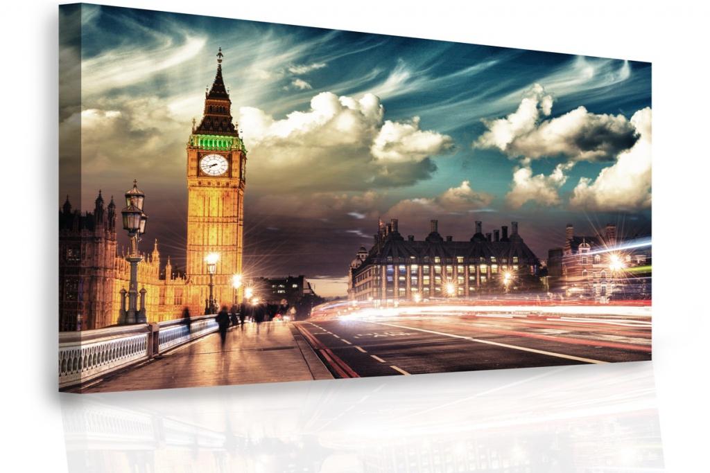 Jednodílný obraz - Londýn