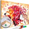 Malování podle čísel - Abstraktní lev