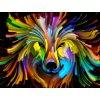 Obraz na zeď - barevné zvíře