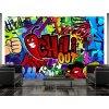 Dětská tapeta graffiti chili out