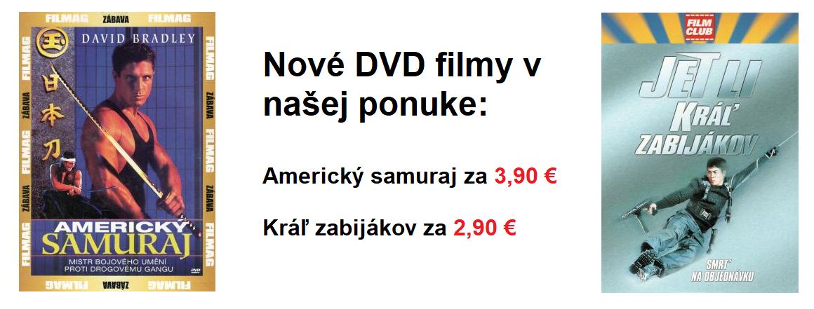 Nové DVD