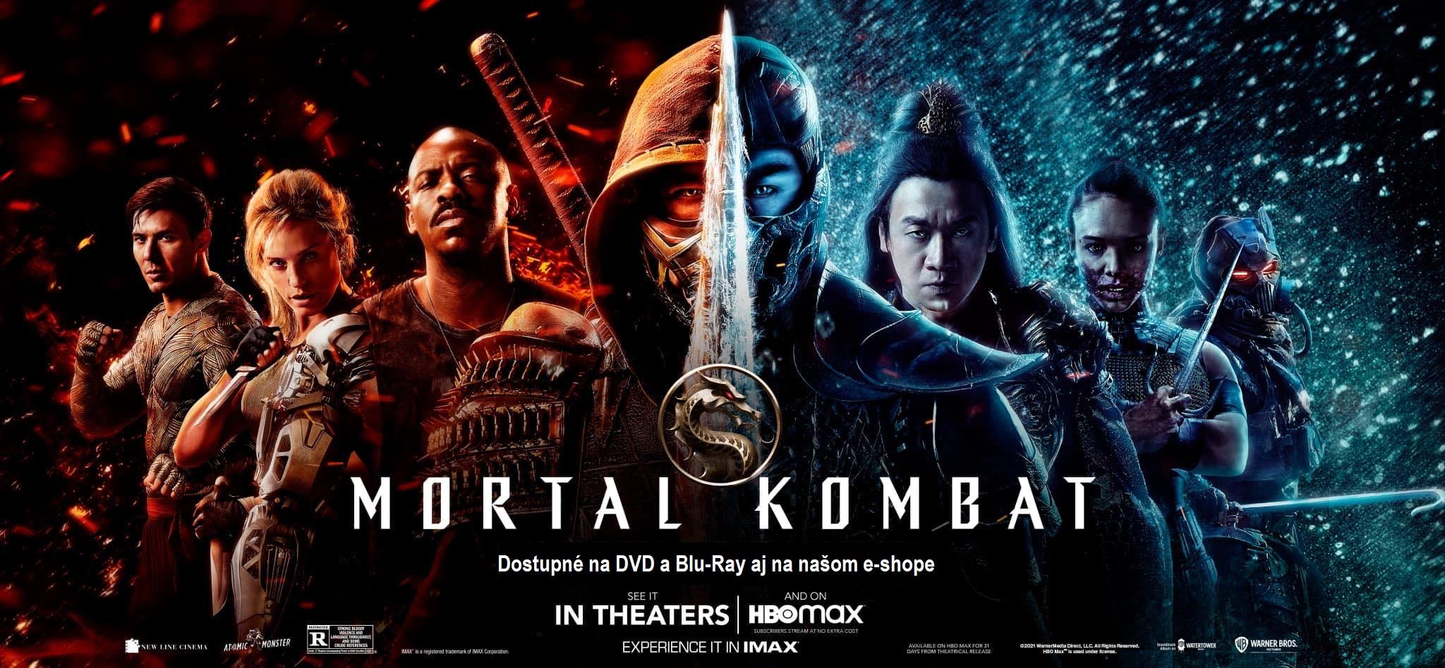 Mortal Kombat DVD a Blu-Ray