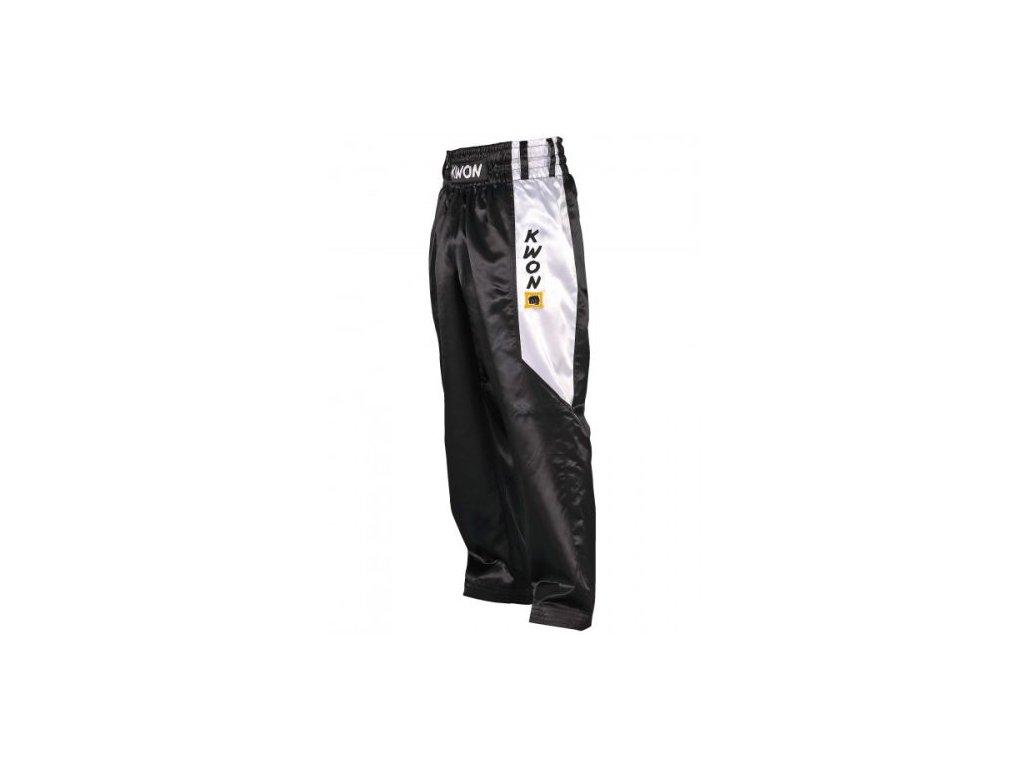 Saténové nohavice ClubLine čierne
