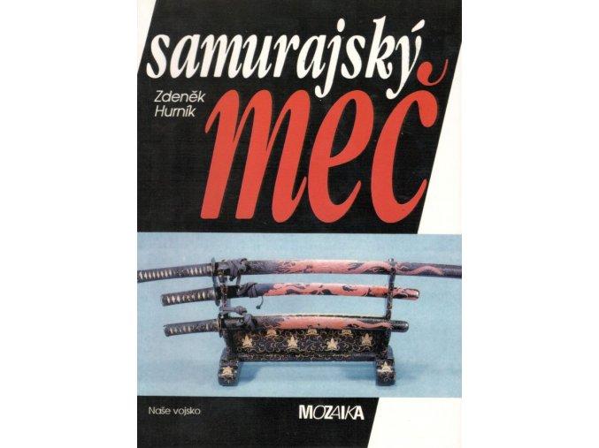 kniha samurajsky mec