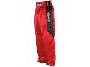 Saténové nohavice ClubLine červené