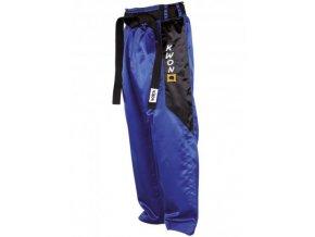 Saténové nohavice ClubLine modré
