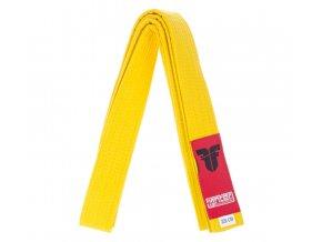 Opasok Fighter žltý